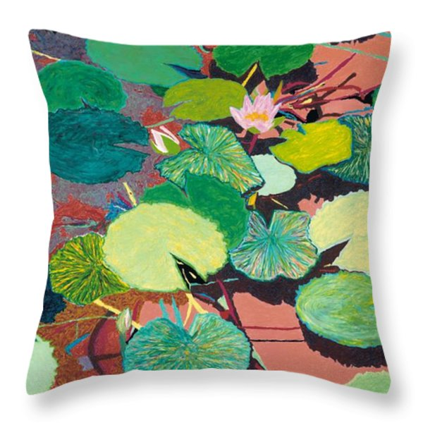 Lazy Summer Afternoon Throw Pillow by Allan P Friedlander