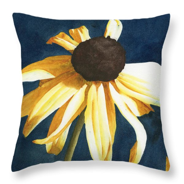 Lazy Susan Throw Pillow by Ken Powers