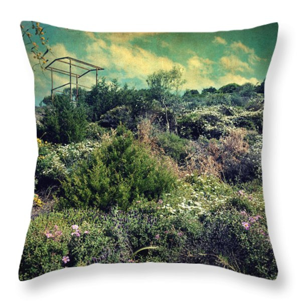 le printemps Throw Pillow by Taylan Soyturk
