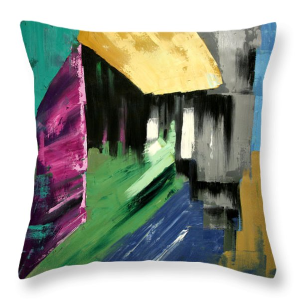 Lean Not On Your Own Understanding Throw Pillow by Anthony Falbo