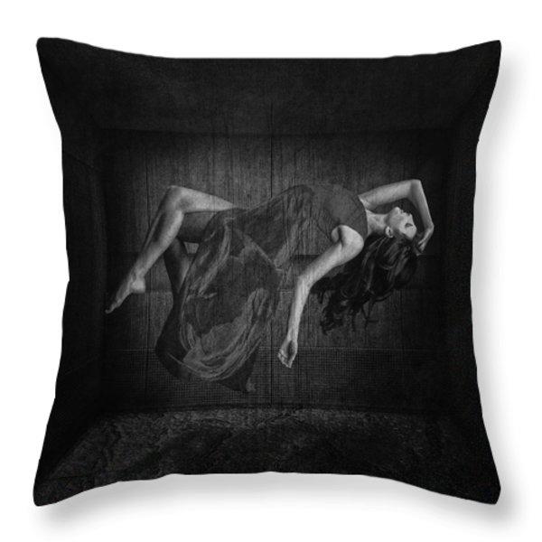 Leaving Throw Pillow by Erik Brede