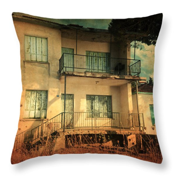 Leaving Home II Throw Pillow by Taylan Soyturk