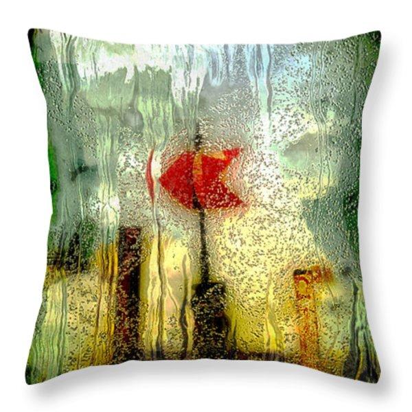 Left Throw Pillow by Jack Zulli