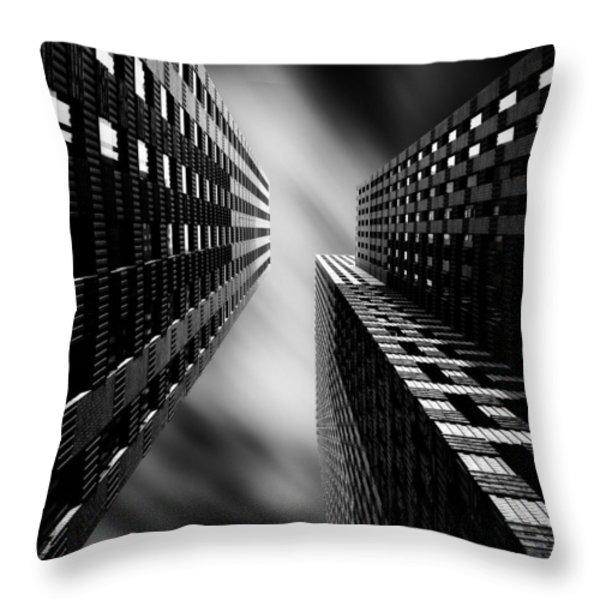 Legoland Throw Pillow by Dave Bowman