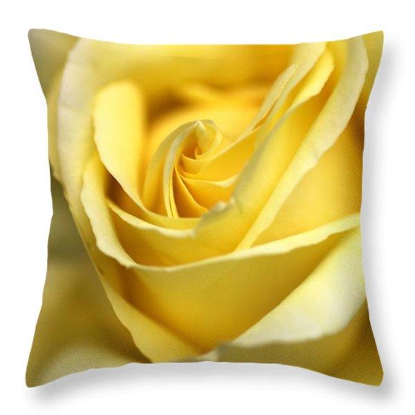 Lemon Lush Throw Pillow by Joy Watson