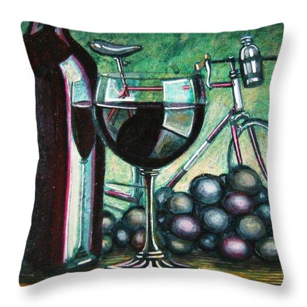 l'eroica still life Throw Pillow by Mark Howard Jones