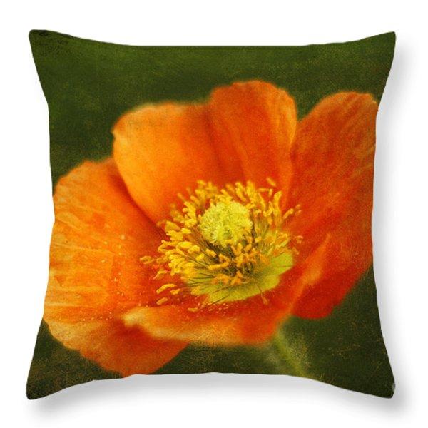 Les Fleurs Throw Pillow by Darren Fisher