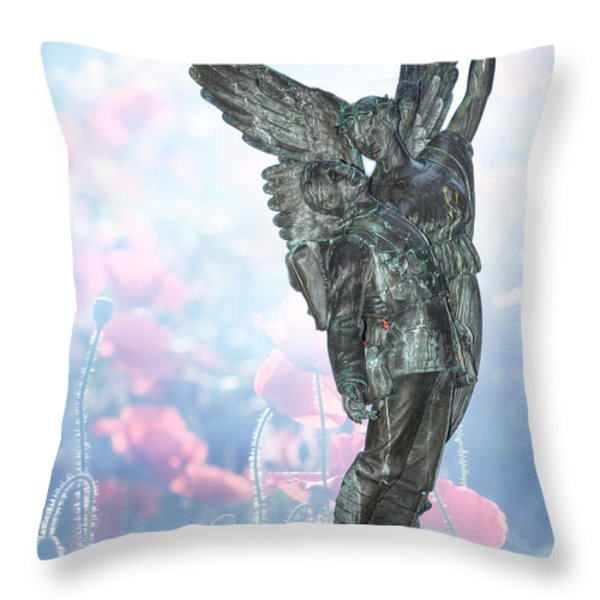 Lest We Forget Throw Pillow by Lisa Knechtel