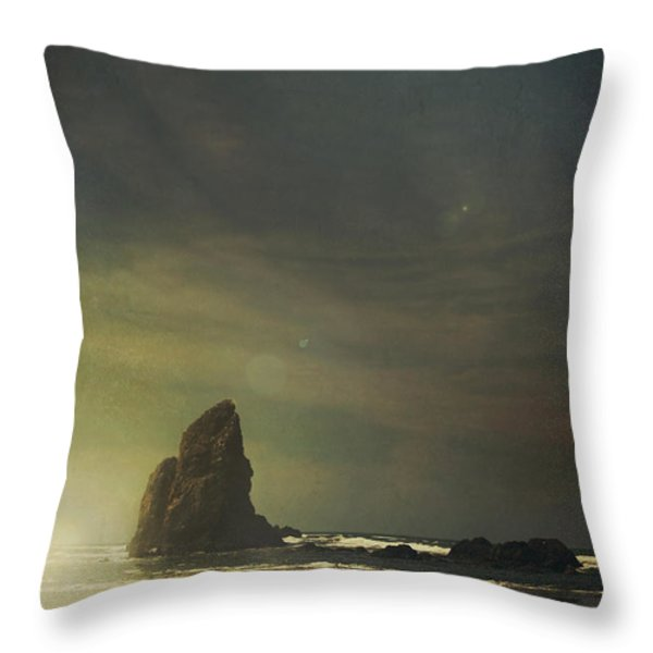 Let Love Shine Through Throw Pillow by Laurie Search