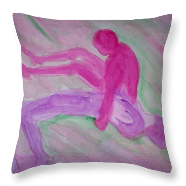 Let me go  Throw Pillow by Hilde Widerberg