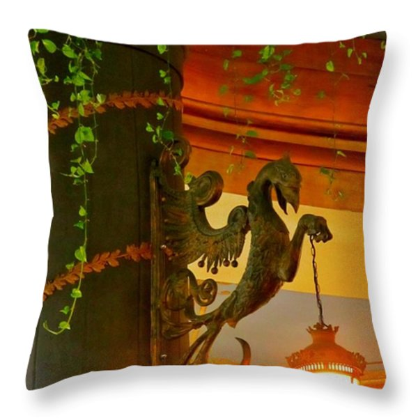 Let Me Light That For You Throw Pillow by John Malone