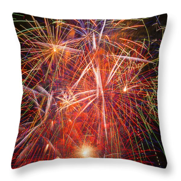 Let Us Celebrate Throw Pillow by Garry Gay