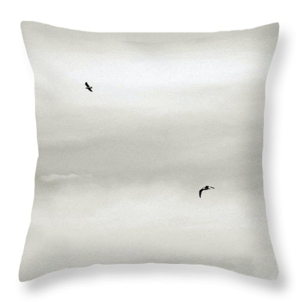 Let Your Spirit Soar Throw Pillow by Robyn King