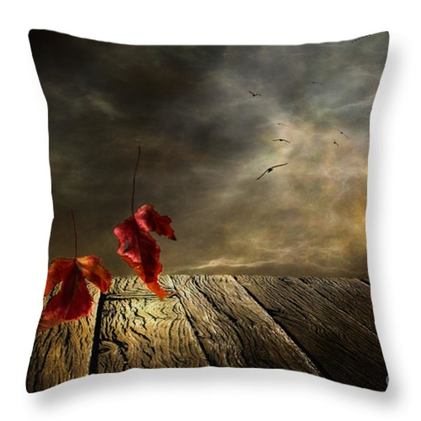 Lets Twist Again Throw Pillow by Veikko Suikkanen