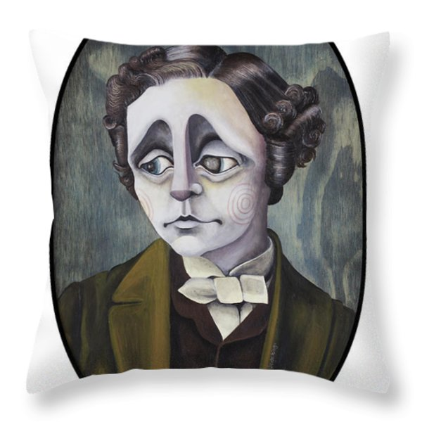 Lewis Throw Pillow by Kelly Jade King