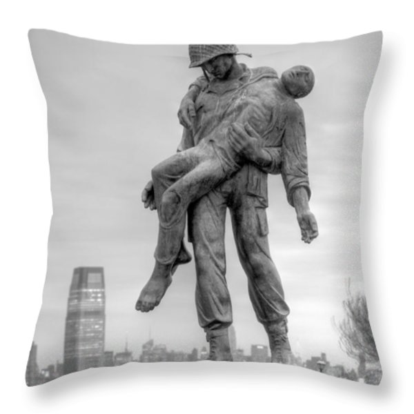 Liberation  Throw Pillow by JC Findley