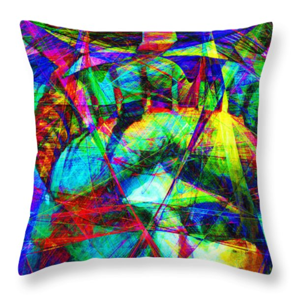 Liberty Head Abstract 20130618 Long Throw Pillow by Wingsdomain Art and Photography