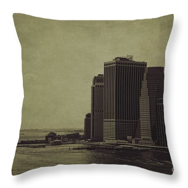 Liberty Scale Throw Pillow by Andrew Paranavitana