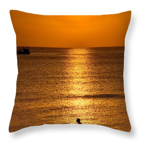 Life Is Beautiful Throw Pillow by Adrian Evans