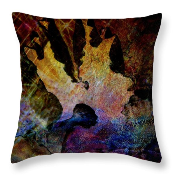 Life's Challenges Throw Pillow by Shirley Sirois