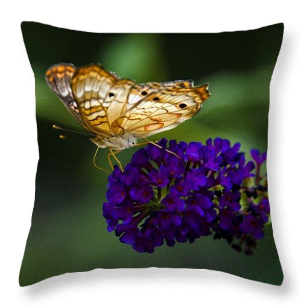 Light Beneath My Wings Throw Pillow by Saija  Lehtonen