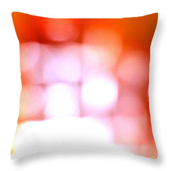 Light Field Throw Pillow by Michelle Calkins