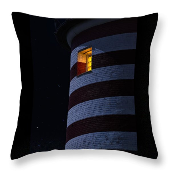 Light From Within Throw Pillow by Marty Saccone