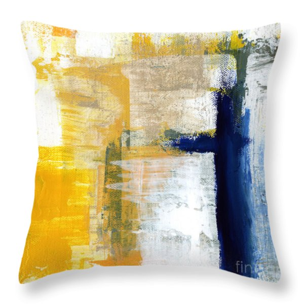 Light Of Day 3 Throw Pillow by Linda Woods
