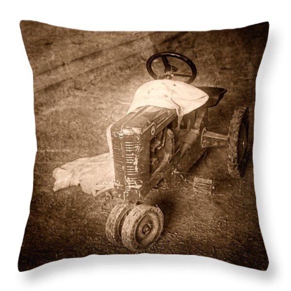 Like Father Like Son Throw Pillow by Tom Mc Nemar