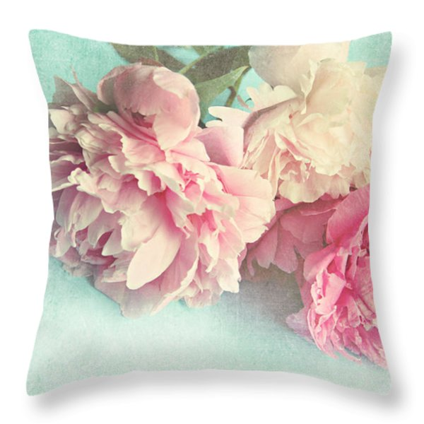 Like Yesterday Throw Pillow by Sylvia Cook