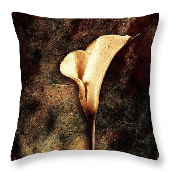 Lilly 2 Throw Pillow by Mauro Celotti