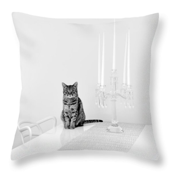 Linda Throw Pillow by Ari Salmela