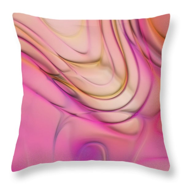 Lines And Circles 02 - P2c4a Throw Pillow by Variance Collections