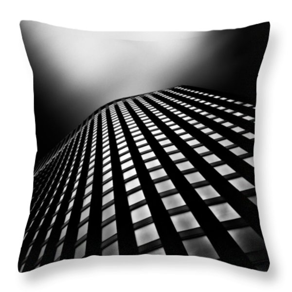 Lines of Learning Throw Pillow by Dave Bowman