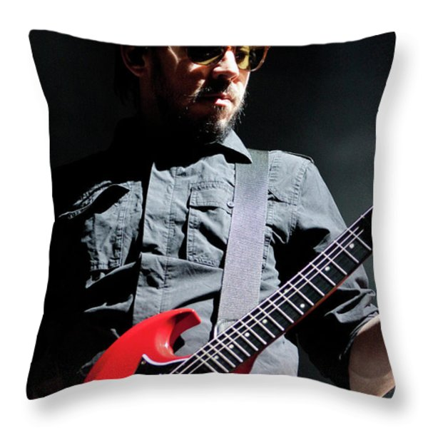 Linkin Park4619 Throw Pillow by Timothy Bischoff