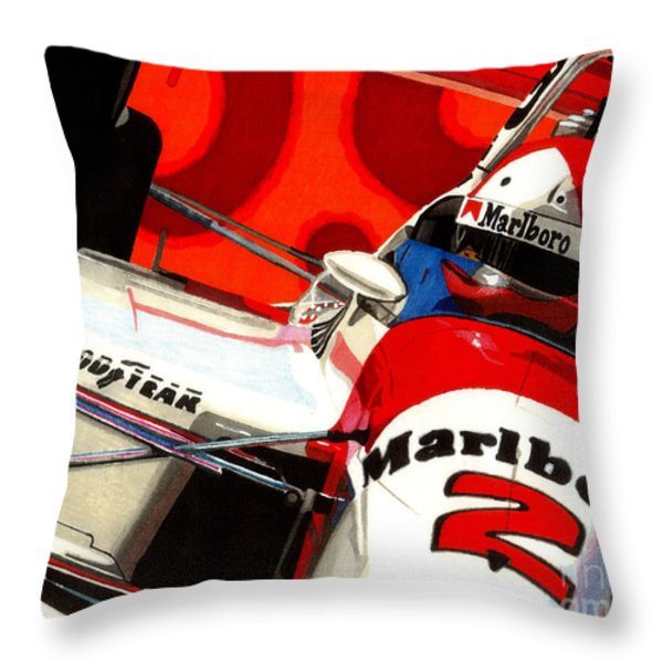 Little Al Throw Pillow by Cory Still