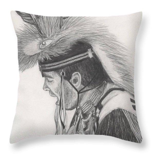 Little Creek Throw Pillow by Lew Davis