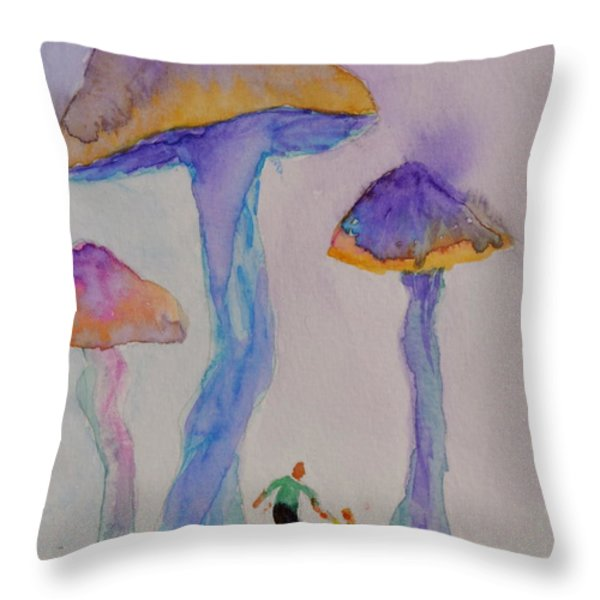 Little People Throw Pillow by Beverley Harper Tinsley