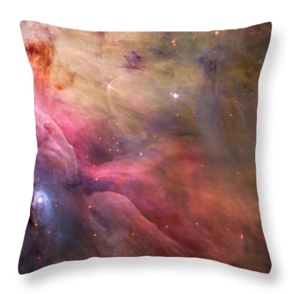 Ll Ori And The Orion Nebula Throw Pillow by Movie Poster Prints