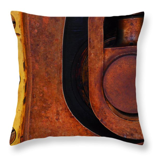 Lock Down Throw Pillow by Skip Hunt