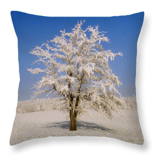 Lonely Throw Pillow by Aged Pixel