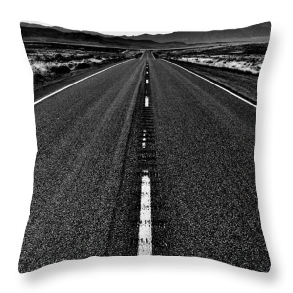 Lonely Throw Pillow by Benjamin Yeager