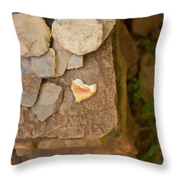 Lonely Heart Throw Pillow by Lena Wilhite