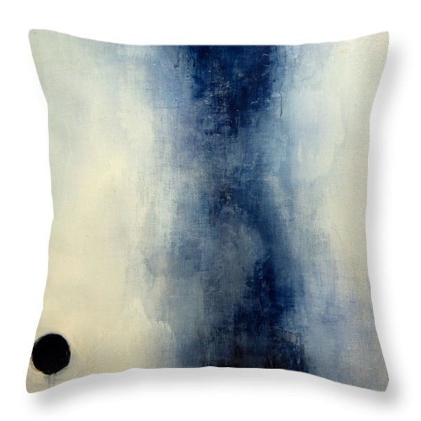 Lonely Moons Throw Pillow by Erica Seckinger
