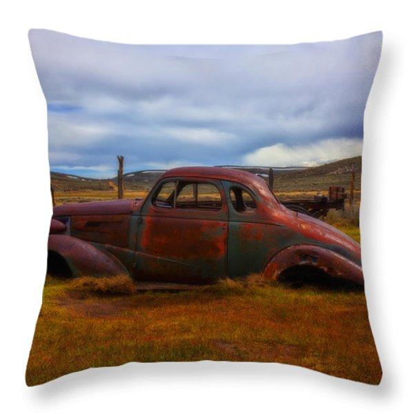 Long Forgotten Throw Pillow by Garry Gay