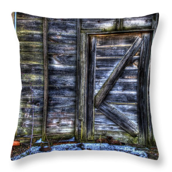 Long Gone  Throw Pillow by Thomas Young