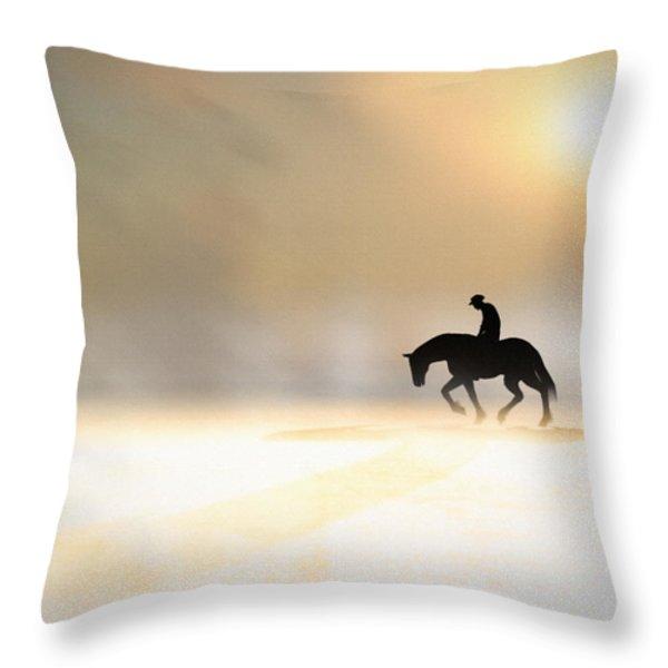 Long Ride Home Throw Pillow by Bob Orsillo