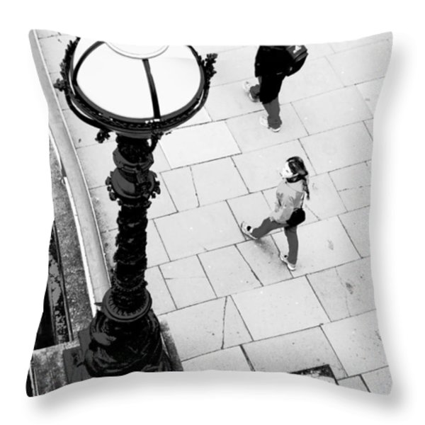 Look Left - ref 4244 Throw Pillow by Colin Hogan