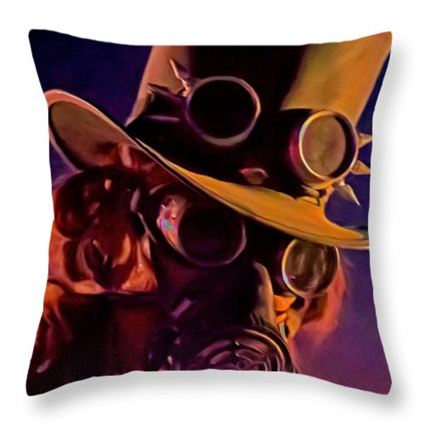 Looking At You Throw Pillow by Michael Pickett