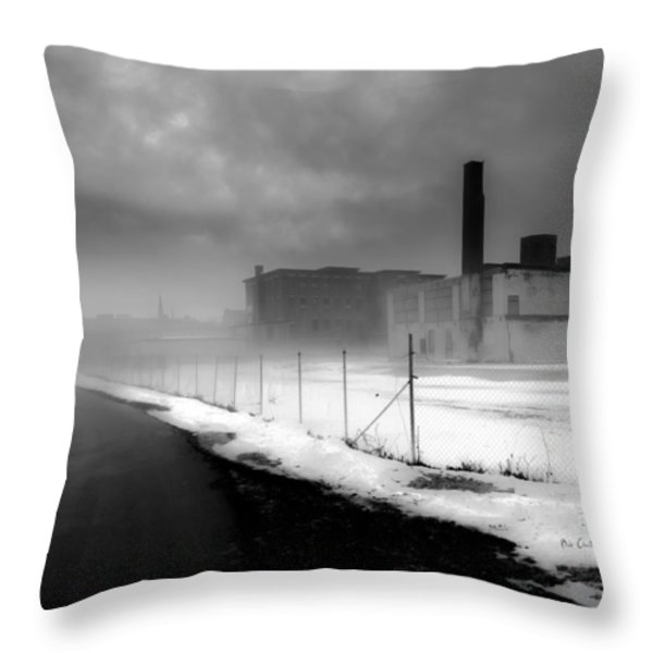 Looking back at time Throw Pillow by Bob Orsillo